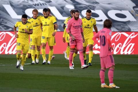 Real Madrid vs Cadiz: Kejutan! Tim Promosi Membuat Real Madrid Bertekuk Lutut