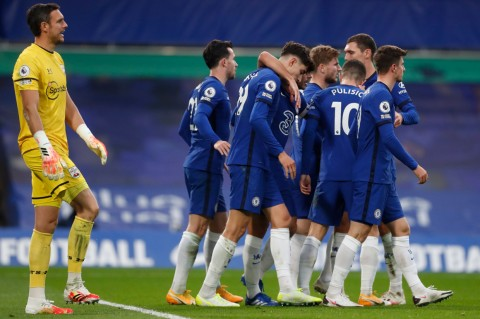 Chelsea Vs Southampton, The Blues Ditahan Imbang 3-3
