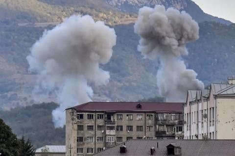 Azerbaijan Tuding Armenia Langgar Gencatan Senjata Terbaru