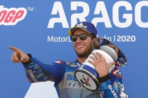 Alex Rins Juara MotoGP Aragon 2020