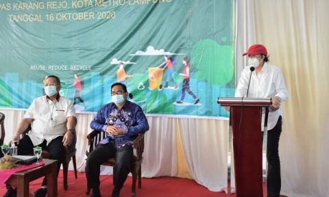 Pusat Daur Ulang Sampah Berkapasitas 50 Ton Dibangun di Lampung