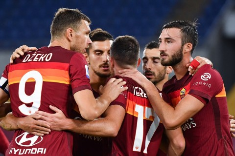 AS Roma vs Benevento: Tuan Rumah Cukur Tim Tamu