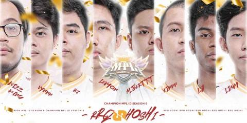 Kalahkan Alter Ego, RRQ Hoshi Juara MPL Indonesia Season 6
