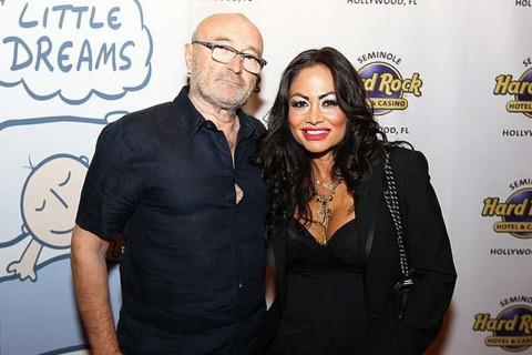 Istri Phil Collins Ajukan Cerai melalui Pesan Teks
