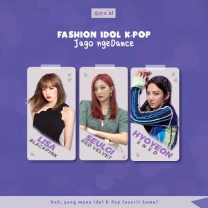 Inspirasi Gaya Fashion Idol K-Pop Cewek Jago Nge-dance