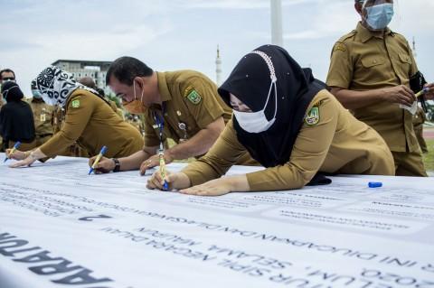 ASN di Batam Teken Petisi Ikrar Netralitas pada Pilkada Serentak