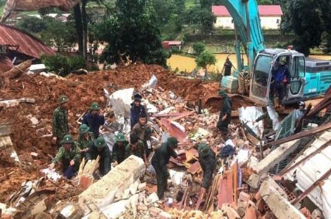 Banjir dan Longsor di Vietnam Tewaskan 90 Orang