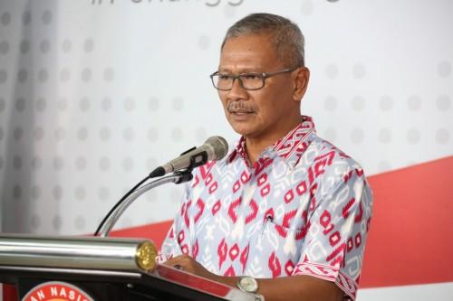 Dirjen P2P, dr. Achmad Yurianto dalam Press Conference Kementrian Kesehatan. (Foto: Antara)