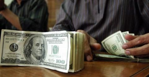 Kurs Dolar AS Merosot