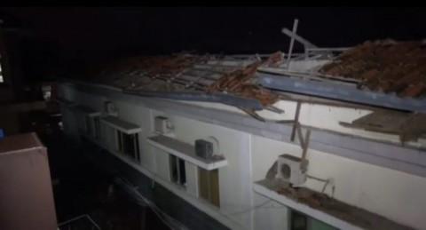 Atap Ruang IGD Roboh, 13 Pasien Dievakuasi