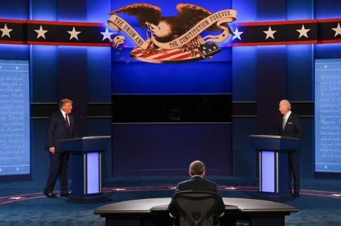Mikrofon Kandidat akan Dimatikan Bergilir dalam Debat Presiden AS