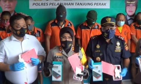 Polisi Bongkar penyelundupan Sabu Kemasan Power Bank dari Malaysia