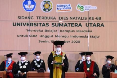 Nadiem: USU Buktikan Komitmen Terhadap Dunia Pendidikan
