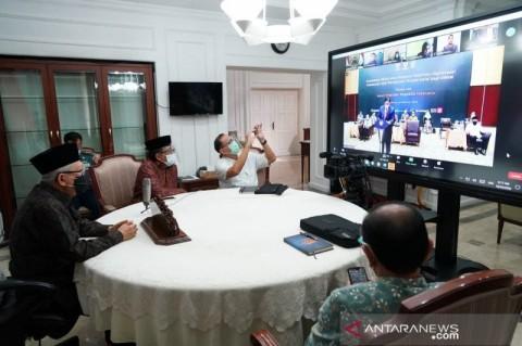 Wapres: UU Cipta Kerja Bukti Keberpihakan Pemerintah pada UMKM