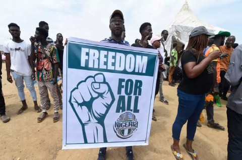 Korban Demo Kebrutalan Polisi Nigeria Jadi 15 Orang