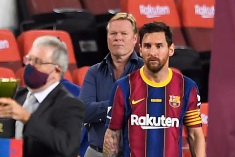 Barcelona vs Ferencvaros: Koeman Kritik Messi untuk Tampil Lebih Baik