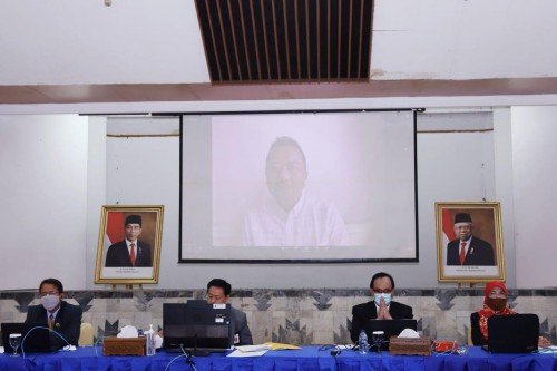 Kepala Perpusnas Muhammad Syarif Bando menyatakan lomba ini bertujuan menggerakkan perpustakaan di Indonesia untuk menunjukkan eksistensi dan perannya. (Foto:Istimewa)