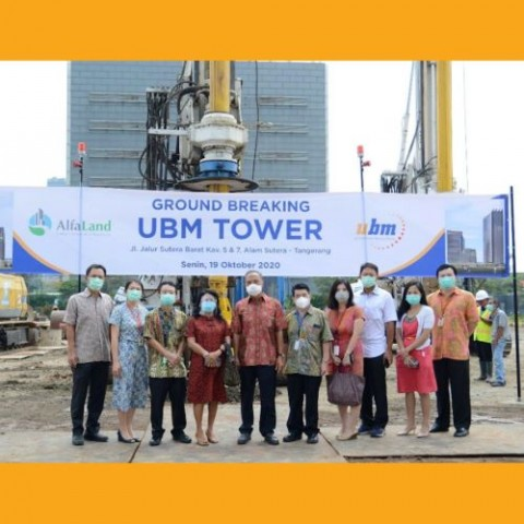 UBM Bangun Gedung Perkuliahan Berkapasitas 10.000 Mahasiswa