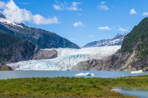 Lelehan Es Alaska Dapat Picu Mega Tsunami