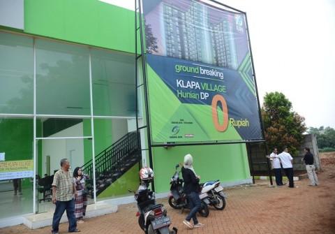 Pembangunan Rumah DP Rp0 di Empat Lokasi Dikebut