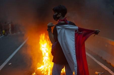 Kapolda: Demonstran Remaja Berkurang