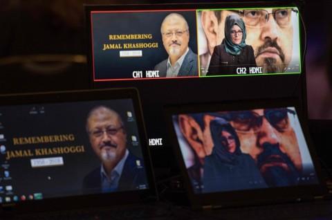 Tunangan Jamal Khashoggi Gugat Putra Mahkota Arab Saudi