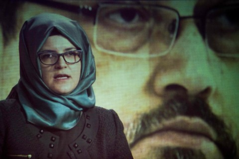 Cengiz, Tunangan Khashoggi Gugat Putra Mahkota Saudi