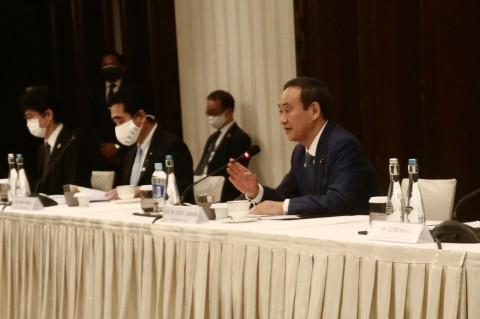 Yoshihide Suga Bertemu Asosiasi Alumni Jepang di Indonesia