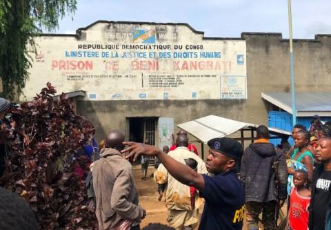 Penjara Kongo Diserang ISIS, 1.300 Tahanan Melarikan Diri