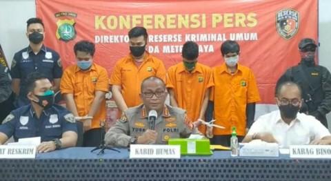 Keroyok Anggota Polri saat Demonstrasi, Tiga Pemuda Ditangkap