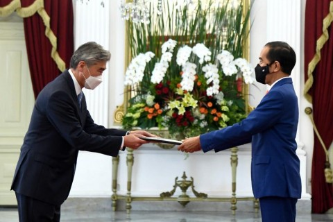 New US Ambassador Presents Credentials to President Jokowi