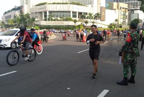 CFD Jakarta Ditiadakan Selama PSBB Transisi