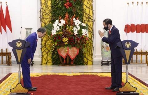 Jepang Beri Utang Hampir Rp7 Triliun, Ini Hasil Pertemuan PM Suga-Jokowi