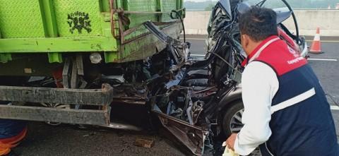 4 Orang Tewas Kecelakaan di Tol Palembang-Kayuagung