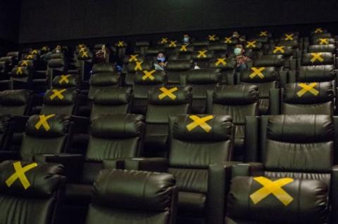Operasional Bioskop di DKI Dibatasi hingga Pukul 20.00 WIB
