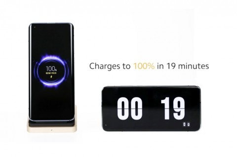 Xiaomi Kenalkan Teknologi Wireless Charging 80W
