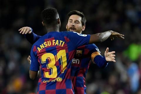 Ansu Fati Belajar Banyak dari Messi