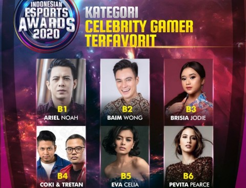 Ariel Berharap Indonesian Esports Awards 2020 Menginspirasi Pengembangan Esports