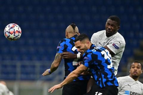 Inter Milan vs Moenchengladbach Berakhir Imbang 2-2