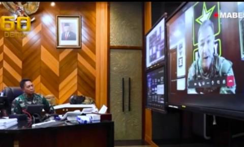 Kasad AS dan Kasad TNI Bahas Latihan Anggota di JRTC