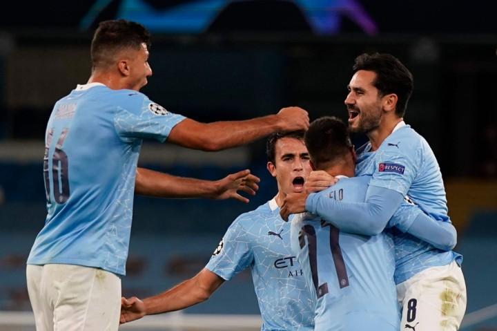 Manchester City vs Porto, The Citizens Unggul 3-1