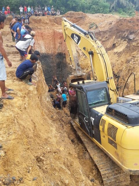 3 Selamat dari Longsor Tambang Batu Bara di Muara Enim