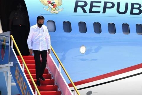 Jokowi Bertolak ke Sulawesi Tenggara