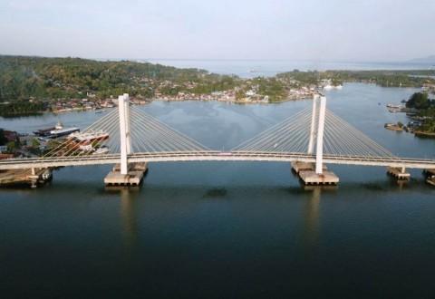 Jembatan Teluk Kendari Diresmikan Jokowi, Waktu Tempuh Jauh Lebih Singkat