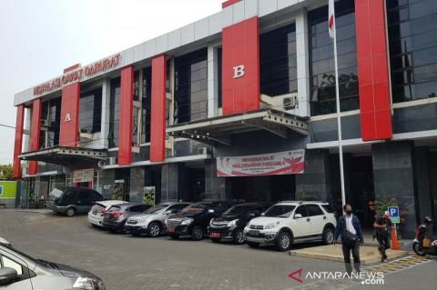 Ruang Isolasi Pasien Covid-19 di RS Tugurejo Semarang Kebakaran