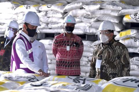 Jokowi Resmikan Pabrik Gula di Bombana