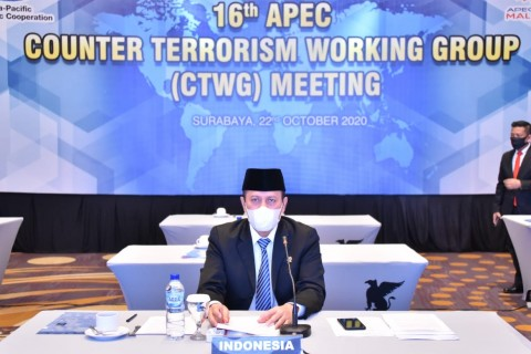 BNPT Ingatkan Anggota APEC Waspada Terorisme di Tengah Pandemi