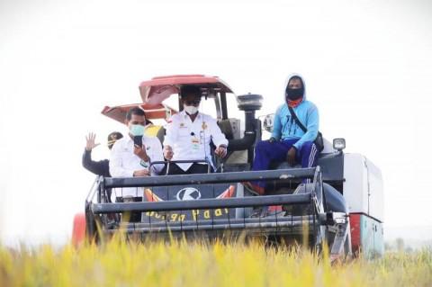 Mentan Apresiasi Kinerja Bupati Konawe Selatan Tingkatkan Produktivitas Pertanian