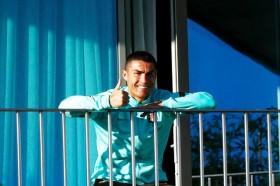 Ronaldo Masih Positif Terpapar Virus Korona