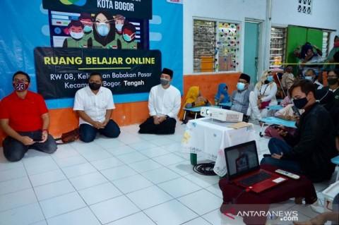 Pemkot Bogor Buka Ruang Belajar Daring untuk Pelajar Tak Mampu